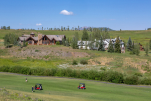 Golf course property in Telluride