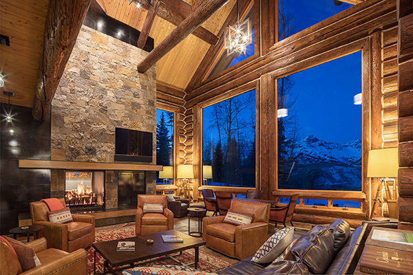 Modernizing the Classic Log Home