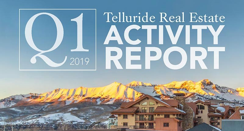 2019 Telluride Real Estate Activity Report Q1