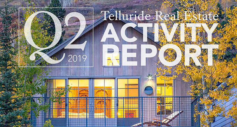2019 Telluride Real Estate Activity Report Q2